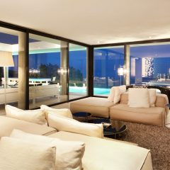 Living room with a view Ibiza