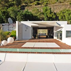 Outdoor Area Luxury Villa Ibiza