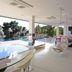 Outstanding Chill Out Area Luxury Villa Ibiza