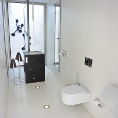 Design bathroom villa in Ibiza