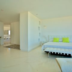 Bedroom in Ibiza Villa