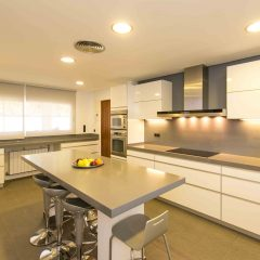 Beautiful kitchen in Ibiza Villa to rent