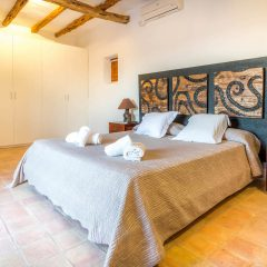 Bedroom in wonderful Ibiza Finca close to Ibiza town