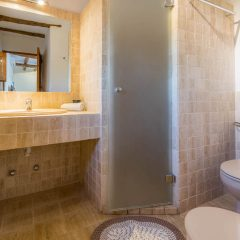 Bathroom in wonderful Ibiza villa close to Ibiza town