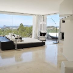 Amazing design bedroom Luxury villa in Ibiza rent