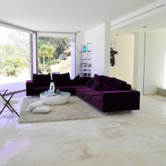 Lounge area villa in Ibiza