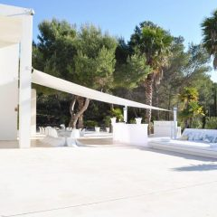 Outdoor area Villa in Ibiza