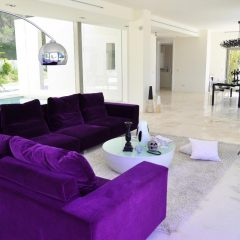 Living room lounge area San Josep Villa