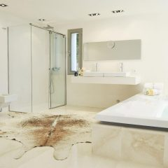 Stunning bathroom luxury villa Ibiza rental