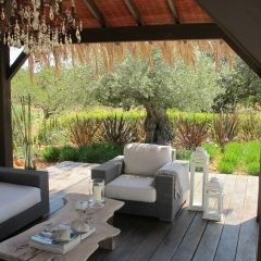 Outdoor lounge area Santa Gertrudis