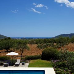 Beautiful view from Ibiza Villa terrace