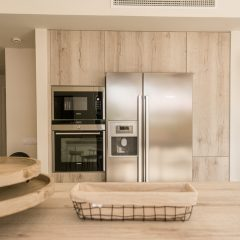 Super modern Kitchen with big Fridge