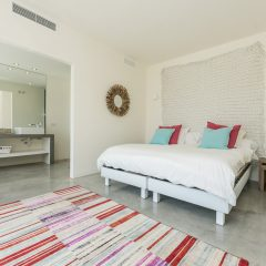cosy Bedroom in modern Style Ibiza Villas to rent