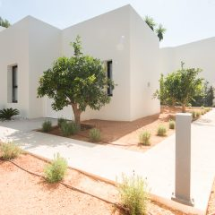 S´Aragamassa Outside Area of a be a beautiful Villa in Ibiza to rent