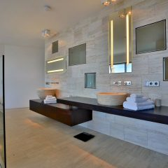 modern Bathroom Villas Ibiza San Miguel rent