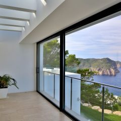 Indoor Seaview Finca Ibiza to rent