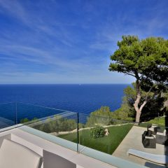 stunning Seaview from Terrasse Ibiza Luxury Villa to rent