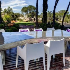 Outdoor Dining Area Ibiza Villa rent
