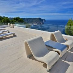 Nice View fro Terrasse Ibiza Villa to rent