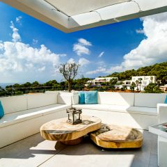 mega Relaxing Area in Es Cubells Villa Ibiza to rent