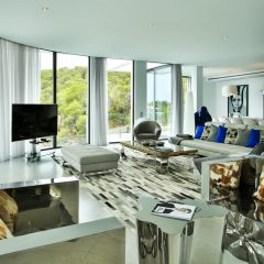 Luxury Livingroom Ibiza Villa to rent Es Cubells