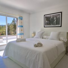 Bedroom in Ibiza Villa to rent