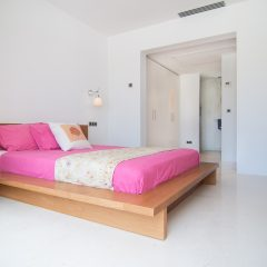 Luxury Bedroom Ibiza Villas 2017 Cala Tarida to rent