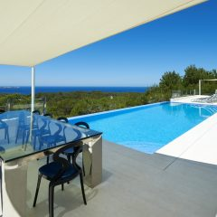 San Antonio Ibiza Villa Pool with Sea view