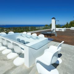 Terrasse in San Antonio Villa in Ibiza