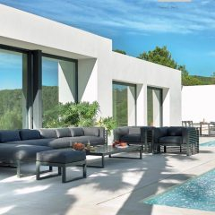 amazing Outside Area Villa Ibiza San Carlos to rent