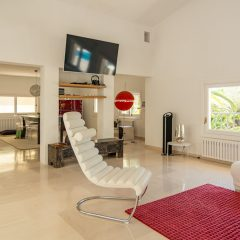 modern and luxury Livingroom Can Furnet Ibiza Villa to rent