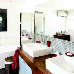 modern Bathroom Ibiza Villa to rent