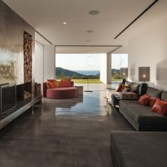 Amazing design living room in Ibiza Benirras