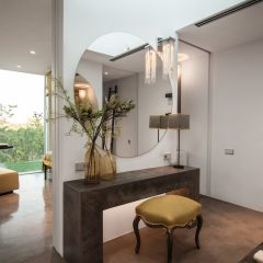 Beautiful bathroom in Ibiza Villa to rent
