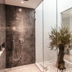 Design shower and bathroom in Ibiza