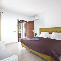 bedroom cala bassa ibiza with direct beach access