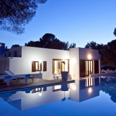 Villa in Ibiza Outdoor at night