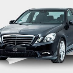 Mercedes black Luxury Car with Driver Ibiza 2017 to rent