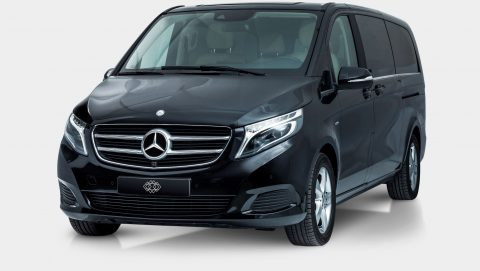 Mercedes V-Class to rent with Driver luxury Cars Ibiza 2017