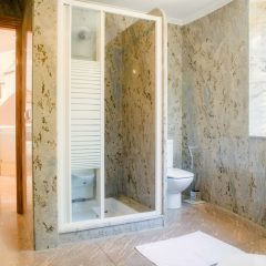 One of many bathrooms in the hugee luxury Villa in Ibiza