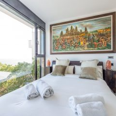Private Bedroom with Seaview Ibiza Villa Roca Llisa to rent